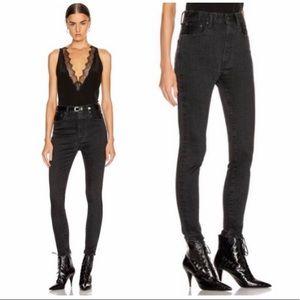 MOUSSY VINTAGE Filer Rebirth Skinny Black Jeans